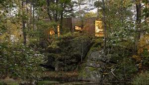 Heilung Natur Waldkabinen Krankenhauspatienten