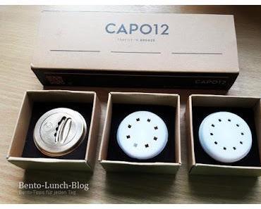 CAPO12, italienische Nudelmatrizen Bronze & Kunststoff/POM