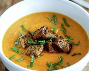 Fantastische Ingwer-Karotten-Suppe