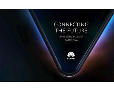 Huawei: Das faltbare Smartphone kommt Ende Februar!
