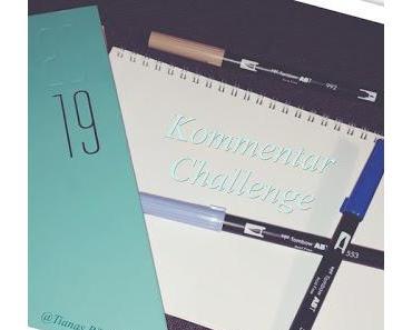 [Challenge] Meine eigene Kommentar-Challenge 2019