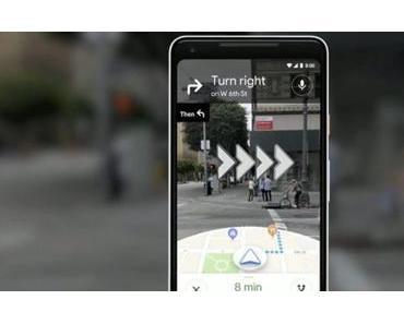 Google Maps: AR-Modus kann von ausgewählten Nutzern getestet werden