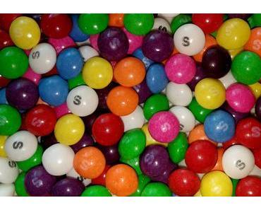"""Foto: Die Giraffenmilch-Bonbons """"Skittles"""""""