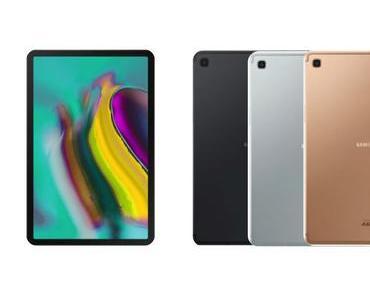 Samsung stellt Galaxy Tab S5e und Galaxy Tab A vor