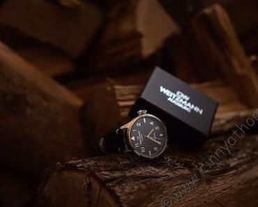 Cool ist die neueste Uhr in Schatzi´s Sammlung und der Name passt perfekt zu ihr #OttoWeitzmann #Armbanduhr #FrBT18