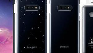 "Samsung bringt ""emotionale"" LED-Schutzhülle Galaxy S10e Markt"