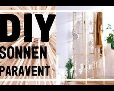 Paravent selber bauen – mein DIY Raumteiler im Ethno Design