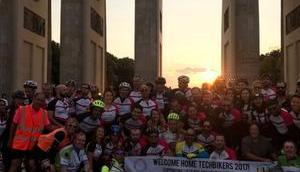 Techbikers: Startup Gründer, Radtouren Gutes