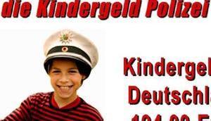 Stop hier kontrolliert Kindergeld Polizei