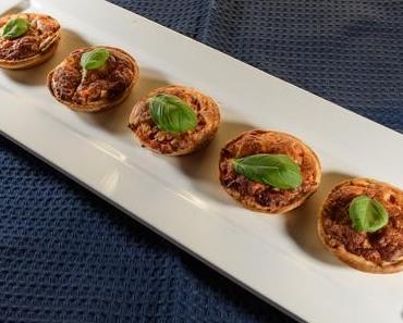 Tomaten-Mozzarella-Minipizzen (lacto-vegetarisch)