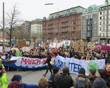 Hunderttausende protestieren für besseren Klimaschutz