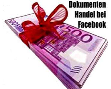 Dokumentenhandel bei Facebook