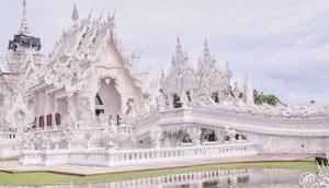 Rong Khun weiße Tempel Chiang