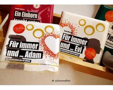 Auftakt zur Leipziger Buchmesse mit wasserfestem Lesestoff von Edition Wannenbuch