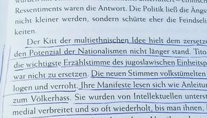 """Herkunft"" lesen Sasa Stanisic -Tag"