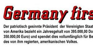 Germany First!