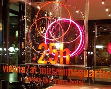 Das 25hours Hotel MuseumsQuartier in Vienna