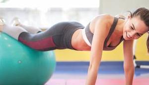 Fitness eigenem Körpergewicht trainieren