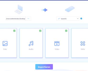 EaseUS MobiMover: Datentransfer ohne iTunes