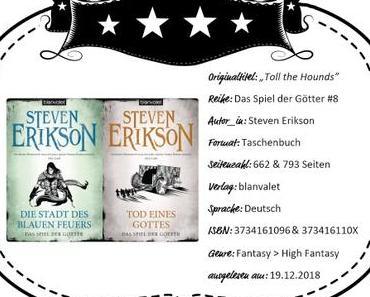 Steven Erikson – Die Stadt des blauen Feuers & Tod eines Gottes
