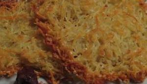Kartoffel-Parmesan-Puffer Backofen