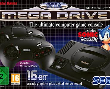 SEGA Mega Drive Mini - Weitere Titel angekündigt