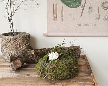 Workshop: DIY Deko aus Heu, Moos, Draht und Blüten