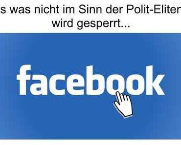 Facebook Sperrung