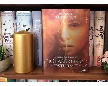 |Rezension| P.C. und Kristin Cast - Gebieter der Elemente 1 - Gläserner Sturm