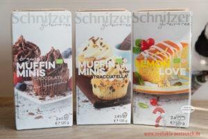 Neue Produkte von Schnitzer – Muffin Mini Chocolate und Straciatella und Lemon Love