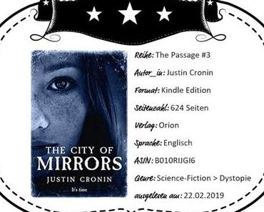 Justin Cronin – The City of Mirrors