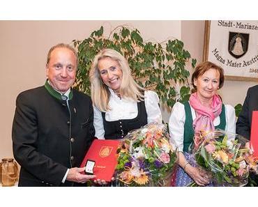 Stadt Mariazell – Goldener Ehrenring für Josef Kuss und Goldene Ehrennadel für Johann Hölblinger
