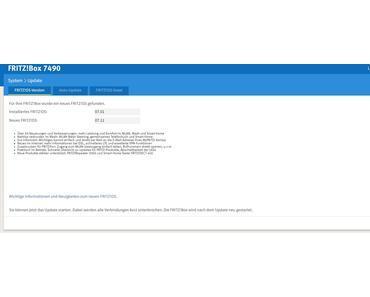 AVM verteilt FritzOS 7.11 für Fritzbox 7490