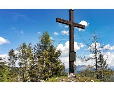 Bild der Woche: Ameiskogel Gipfelkreuz