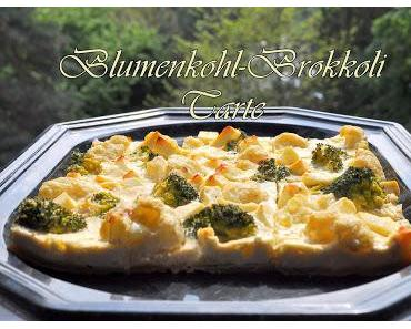 Die Blumenkohl-Brokkoli Tarte