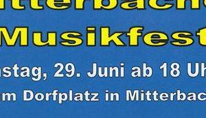 Termintipp: Mitterbacher Musikfest 2019
