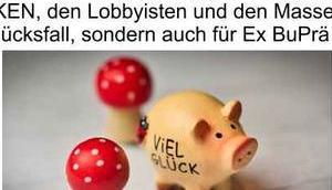 Masseneinwanderung Sozialsystem gemäß BuPrä Wulff Glücksfall Deutschland