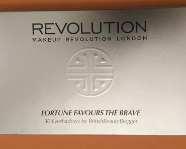 [Werbung] Makeup Revolution Fortune Favours the Brave 30 Eyeshadows