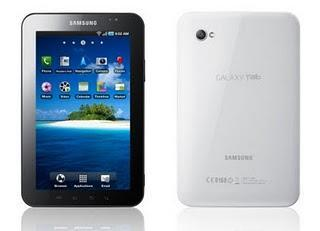 Samsung Galaxy Tab: Android 2.3.3 Gingerbread Update.