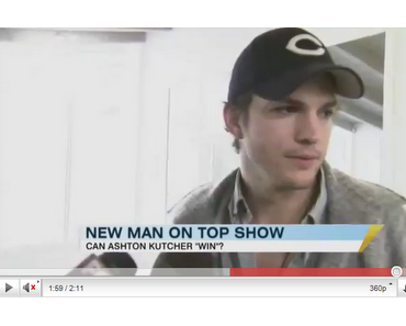 "Ashton Kutcher ersetzt Charlie Sheen in ""Two and a half men"""