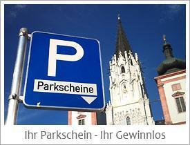 Parkscheinverlosung in Mariazell