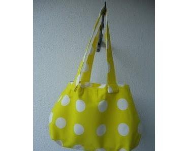 Yellow spring bag - Gelbe Frühlingstasche