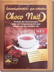 Choco Nuit–gut schlafen mit Kakao