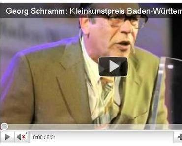 Georg Schramm – ein Mann mit Rückgrad