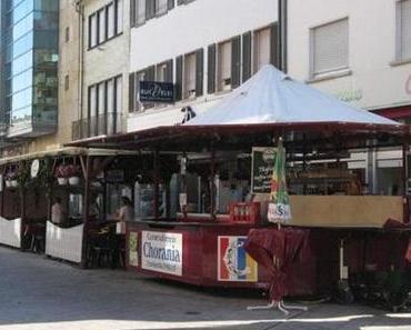 In Frankenthal ist Strohhutfest…Innenstadtbelastungstest