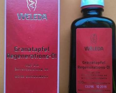 [Werbung] Weleda Granatapfel Regenerations-Öl