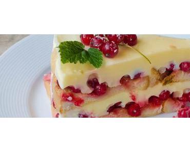 Zum Johannistag ein Kuchen ohne Backen – No-Bake Zwieback-Pudding Torte mit Gutedel aus dem Markgräflerland