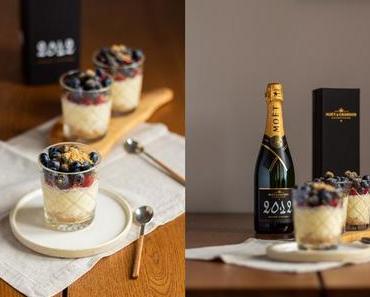 Champagner Cheesecake im Glas