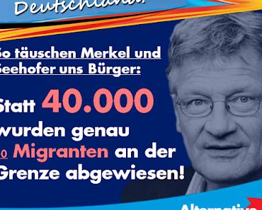 Ein Jahr danach: Merkel und Seehofer haben gelogen