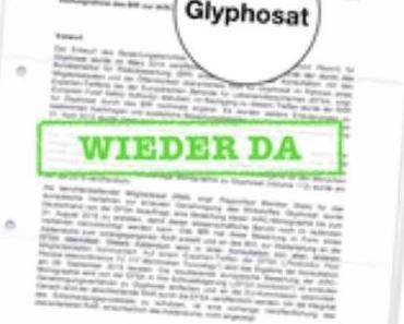 FragDenStaat darf das Glyphosat-Gutachten wieder zeigen
